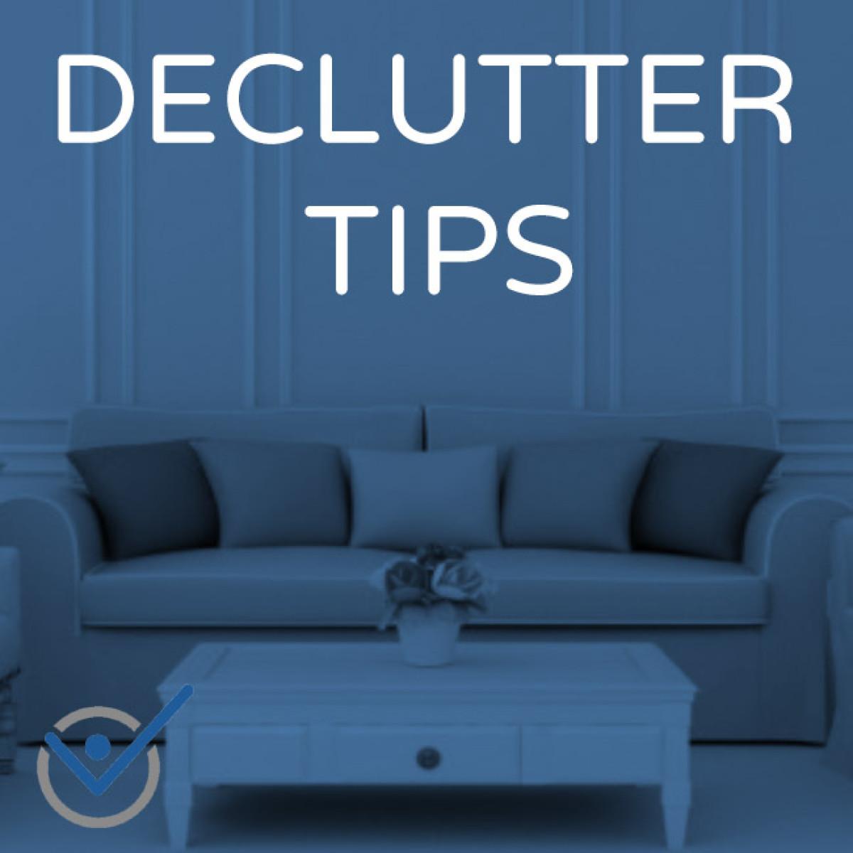 Declutter Organize Tips