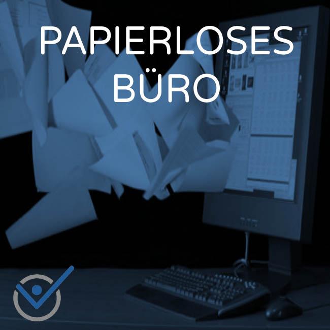 Papierloses Büro Scanner