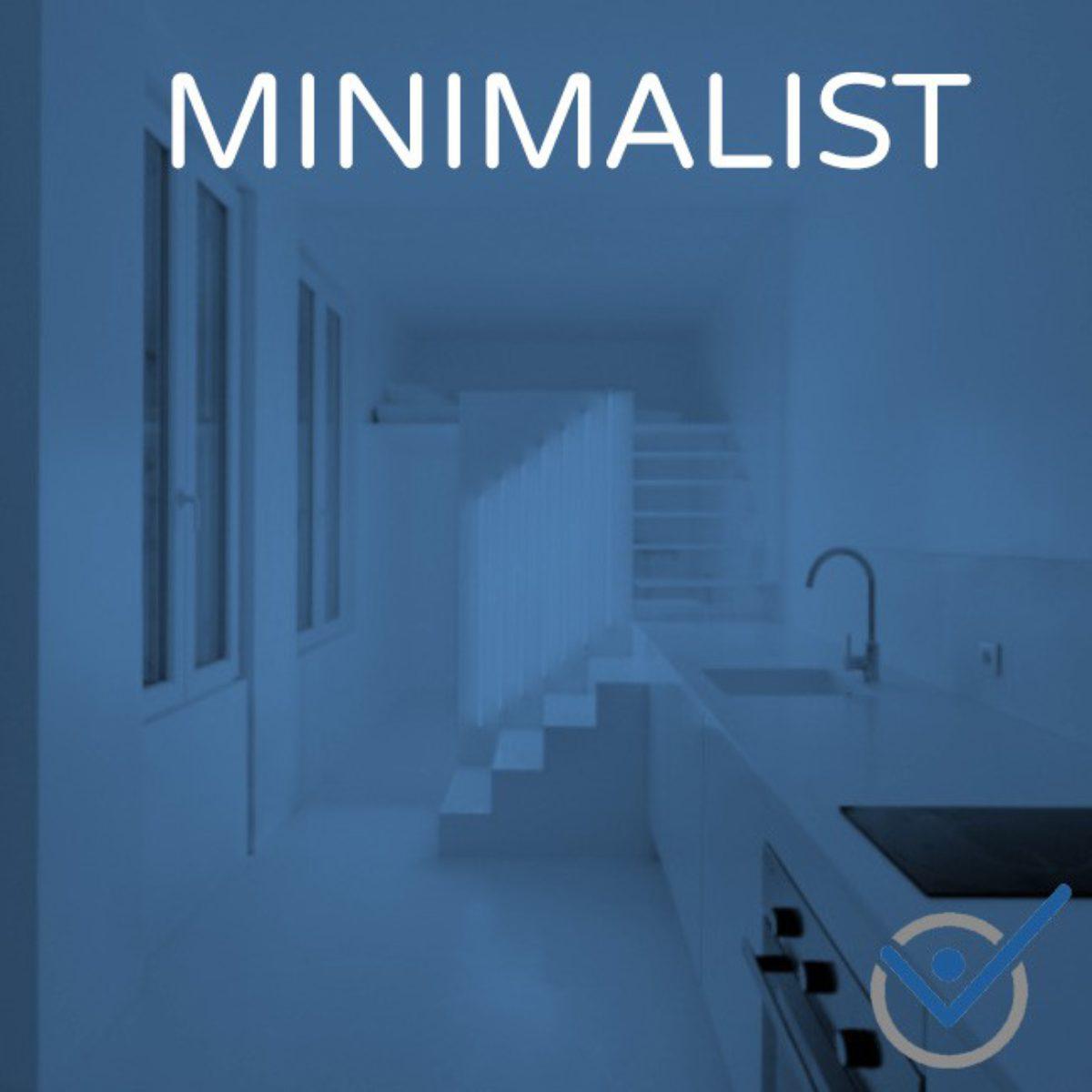 Minimalismus Aufräumen Ordnung