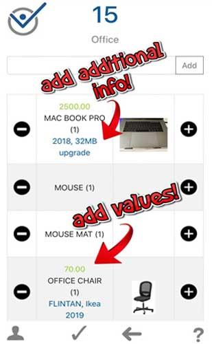 home inventory app house inventory app
