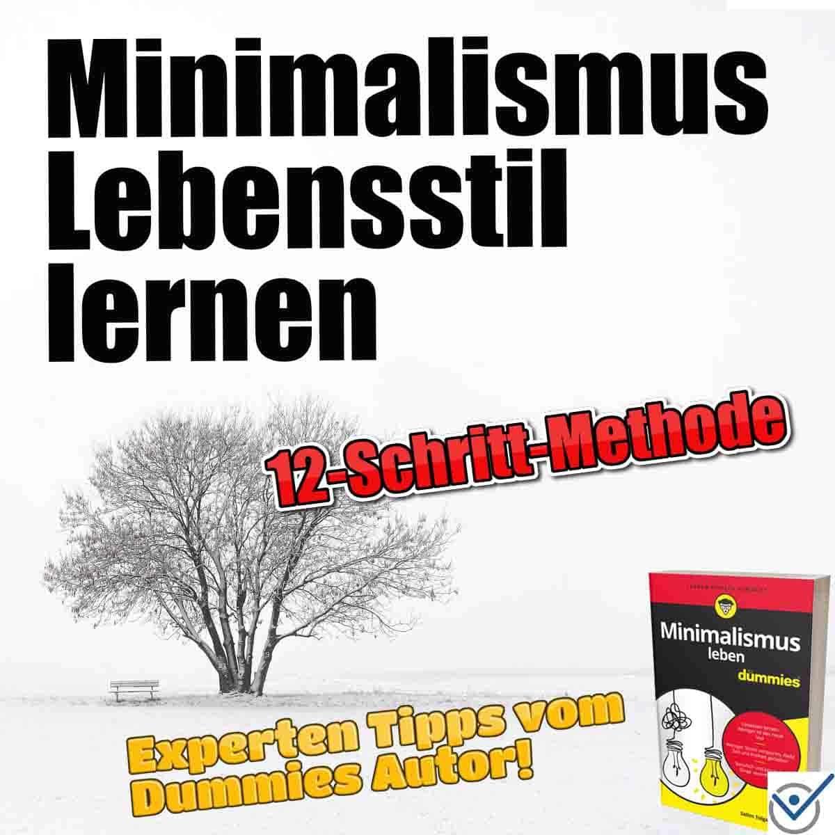Minimalismus Lebensstil lernen