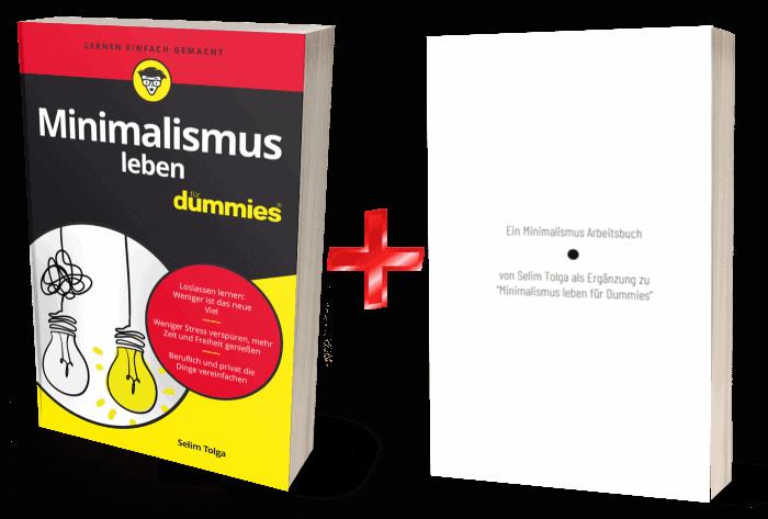 minimalismus buch dummies arbeitsbuch minimalismus