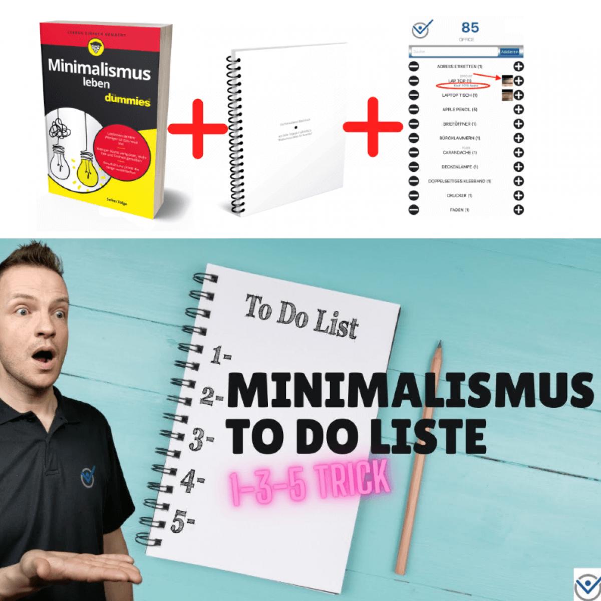 Minimalismus To Do Liste